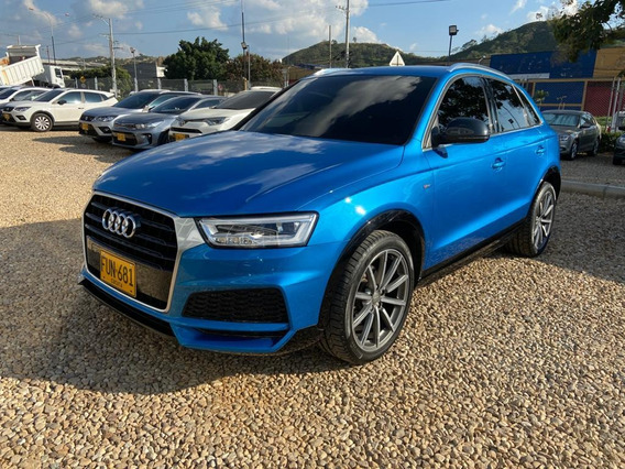 Audi Q3 Progressive 2018 Azul