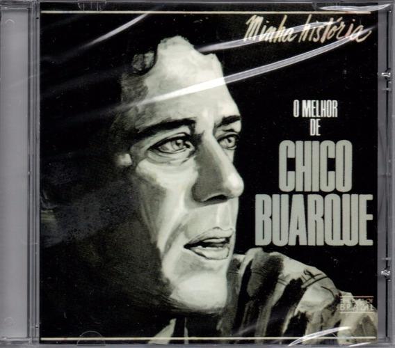 Cd Chico Buarque - Minha História O Melhor De