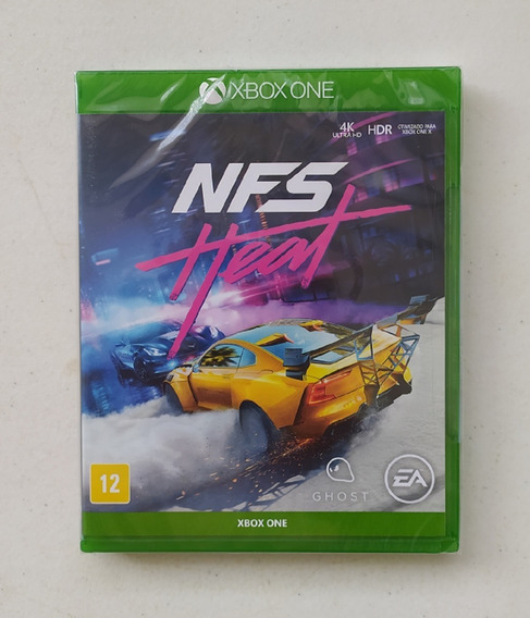 Need For Speed Heat - Xbox One - Mídia Física - Português