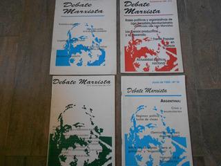 Lote 4 Revistas Debate Marxista 1995-98 Rolando Astarita