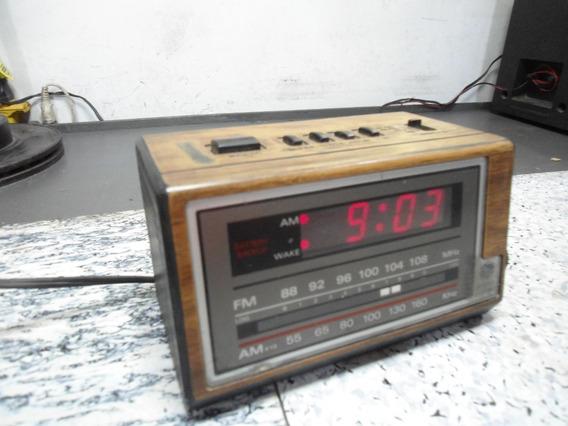 Antigo Rádio Relógio Ge - No Estado