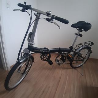 Bicicleta Dobrável Soul D60 Preta