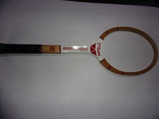 Raqueta Tenis Wilson Jimmy Connors Antigua De Coleccion