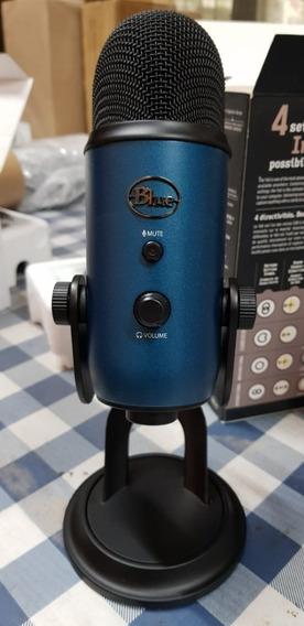 Microfone Condensador Blue Yeti Usb Até Windows 10