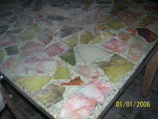 Vendo Mesa Comedor De Marmol Antiguo Y Sillas