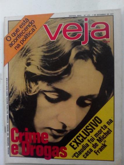 Revista Veja 470 Pelé 4 Pgs Claudia Lessin Otavio Dulci 1977