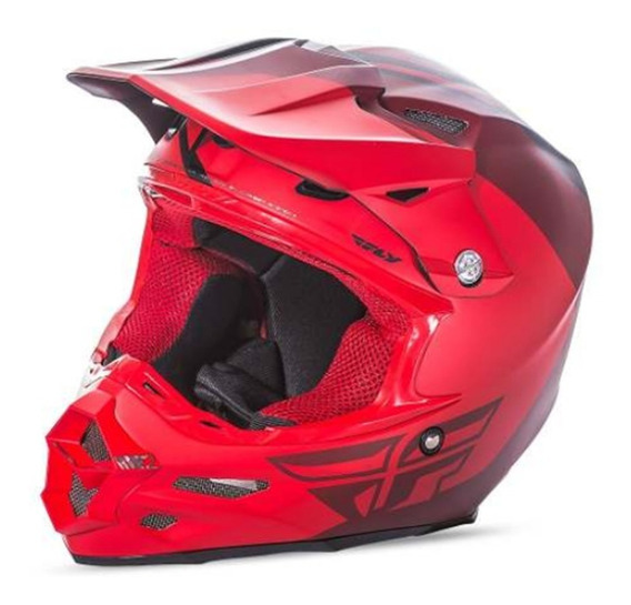 Capacete Fly Racing F2 Pure Motocross Cores