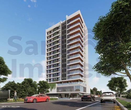 Imagem 1 de 15 de Apartamento Para Venda Em Ponta Grossa, Estrela, 3 Dormitórios, 2 Suítes, 3 Banheiros, 2 Vagas - _1-2003589
