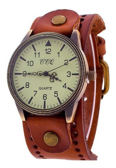 Relógio Feminino Barato Bracelete Couro