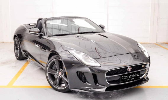 Jaguar F-type 3.0 Cabrio Supercharged V6 24v Gasolina 2p