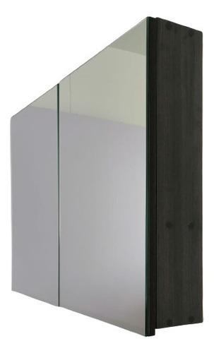 Gabinete Para Baño Doble Puerta Con Espejo 63*50*10