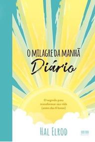 Livro O Milagre Da Manhã Diário