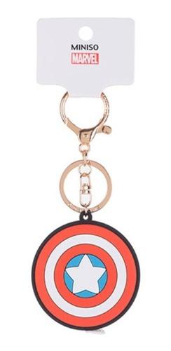 Chaveiro Com Trena Marvel - Capitão América