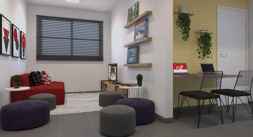 Imagem 1 de 10 de Compre Seu Apartamento Em Lançamento No Harpia Com 43,34 M²   Vila Andrade, São Paulo   Sp - Apl274304v