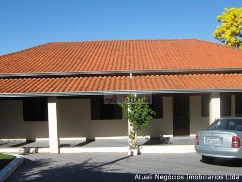 Imagem 1 de 29 de Chácara Residencial À Venda, Parque Jatibaia (sousas), Campinas - Ch0014. - Ch0014