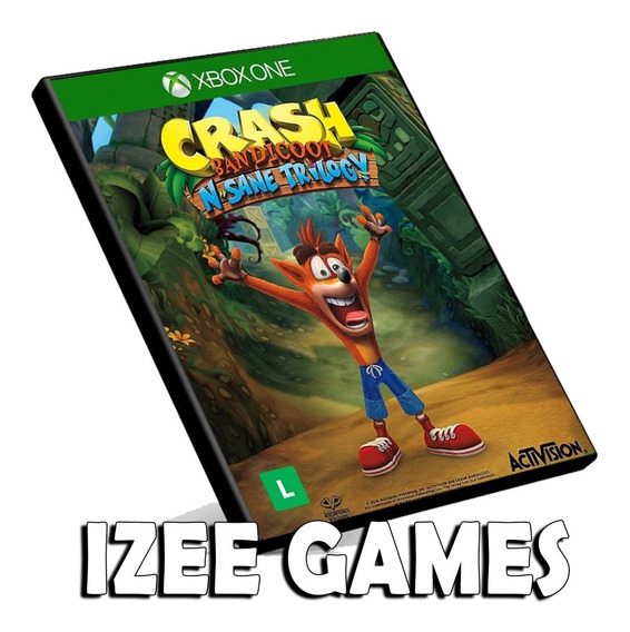 Crash Bandicoot N. Sane Trilogy Xbox One Digital + 1 Jogo