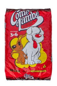 Ração Come E Lambe Para Cães Adultos Vitaminada
