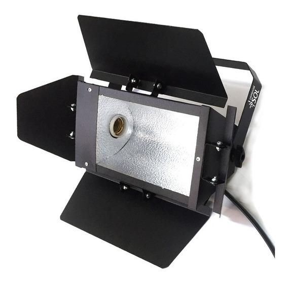 2x Refletor Foto E Vídeo Soquete E-27 - Prático E Eficaz