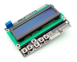 Lcd Keypad Arduino Con Menu - Electrónica, Audio y Video en