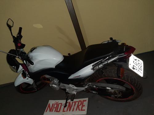 Honda Cb300r Branco  Cb300r 2011 2012