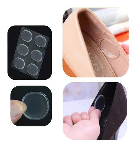 8 Blisters De 6 Botones Gel Silicona Protección Pies Zapatos