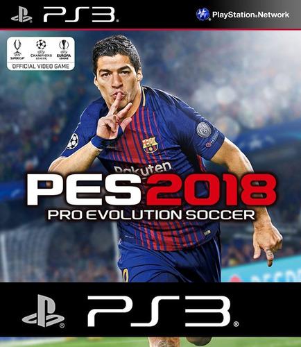 Imagen 1 de 10 de Pes 18 Ps3 2018 Español Latino Pro Evolution Soccer