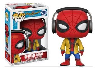 Funko Pop Spiderman N 265 Bobble Head Home Coming