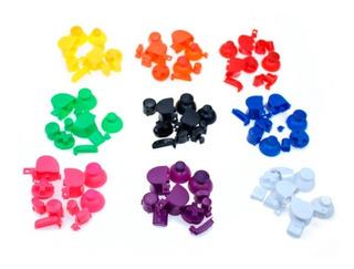 Botones Gamecube Nintendo Variedad Colores Solidos