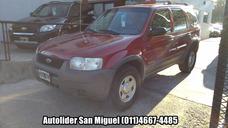 Ford Escape 2.0 4x4 Xls 2001 Excelente Estado Autolider
