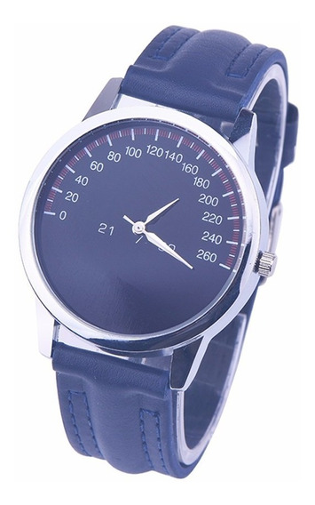 Relógio De Pulso Veicular Preto Horas Tempo Espacial