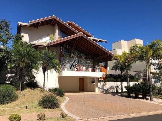 Casa A Venda E Locação, Condomínio Alphaville Dom Pedro, Campinas - Ca0455