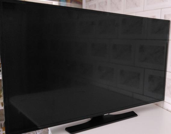Tv Samsung 40 Un40h5100ag Com Defeito Na Tela Tela Trincada