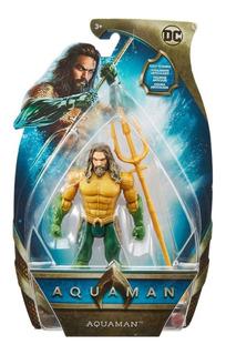 Aquaman Figura 6 Pulgadas Articulada Mattel Original!!!