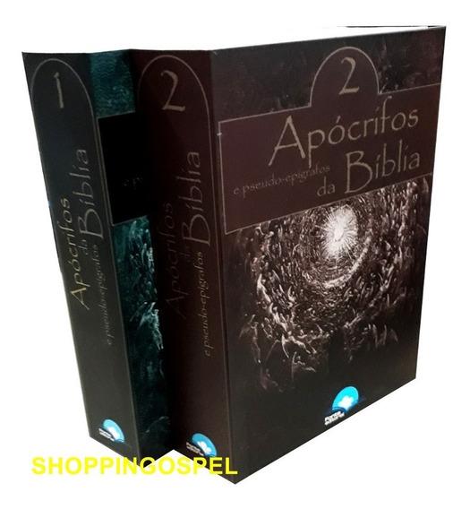 Livro Apócrifos E Pseudo-epígrafos Da Bíblia Box 2 Volumes