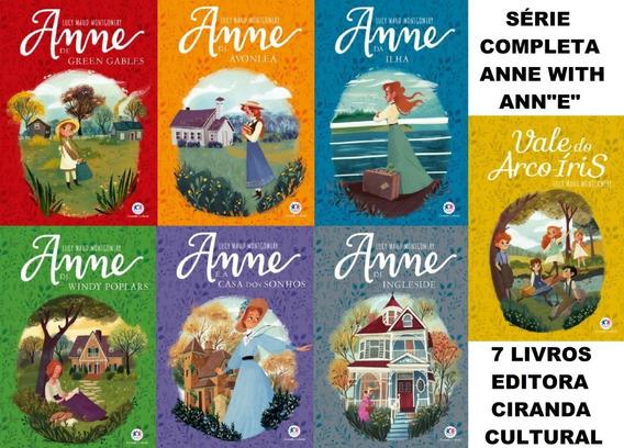 Série Completa Anne With Ane Com 7 Livros (ciranda Cultural)
