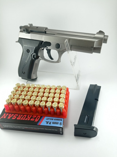Pistola Major Firat Magnum 2 Proov+50 Tiros Traumatica