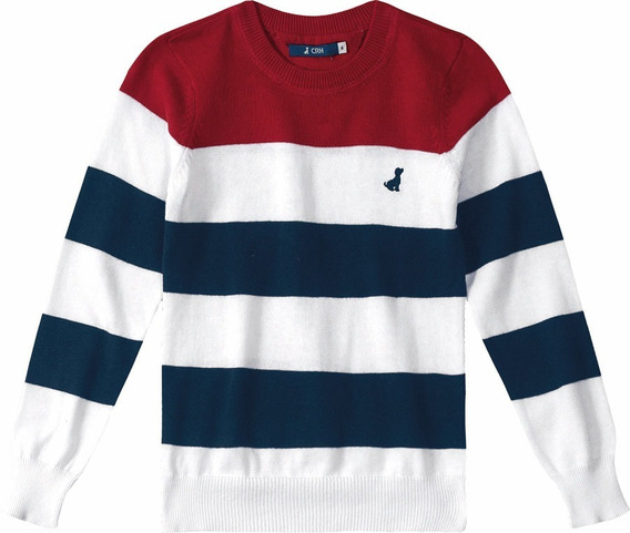 Outlet Blusão Suéter Casual Infantil - Carinhoso