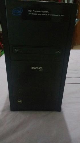 Computador  Atom 230 Com Dvd Sata E Hd Sata (somente Cpu)