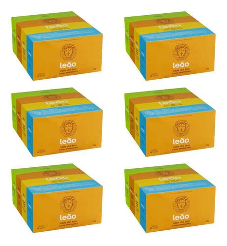 Leão Chá Caixa Mista C/60 (kit C/06)