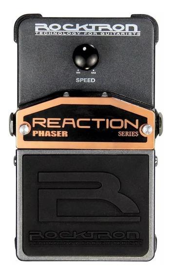 Pedal De Efeitos Rocktron Reaction Phaser Para Guitarra + Nf