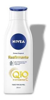 Crema Corporal Reafirmante Nivea Q10+ Vitamina C Firme 250ml