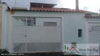 Casa Para Venda Em Mogi Das Cruzes, Cesar De Sousa, 2 Dormitórios, 1 Banheiro, 2 Vagas - 3183