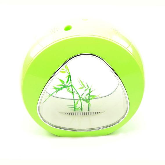 Mini Aquario Verde Sunsun Ya-01 4 L Bivolt Completo Spid Fsh