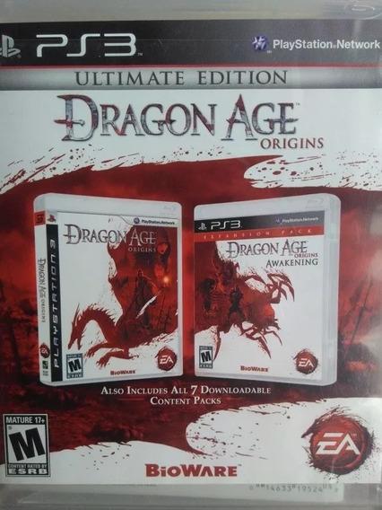 Dragon Age Origins Ultimate Edition , Mídia Física