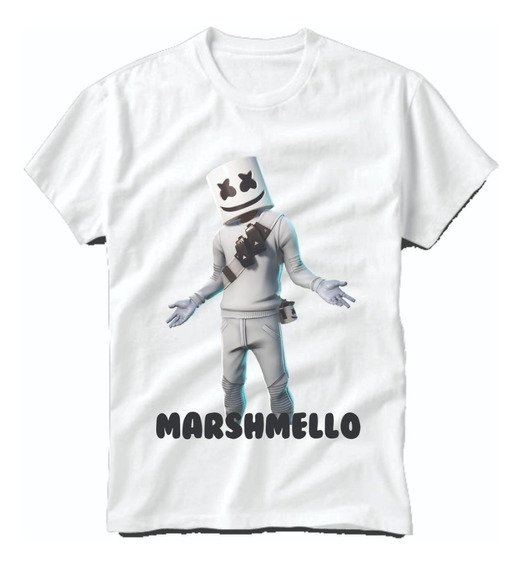 Playera Marshmello Dj Fornite Mello Gang Niños Y Juvenil