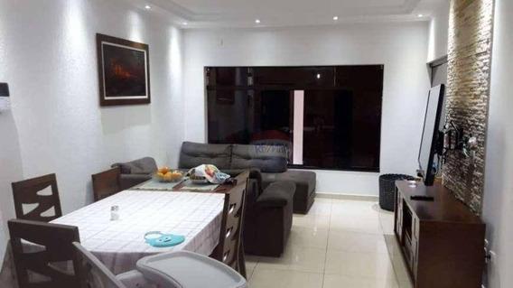 Casa Com 3 Dormitórios Para Alugar, 122 M² Por R$ 2.000,00/mês - Bortolândia - São Paulo/sp - Ca0555