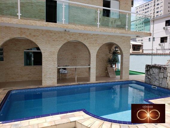 Casa Com 4 Dormitórios À Venda, 500 M² Por R$ 1.350.000,00 - Vila Assunção - Praia Grande/sp - Ca0050
