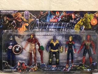 Muñecos Avengers Endgame En Caja X5 15 Cm Local Caba