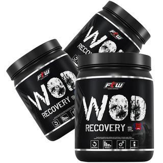 Kit 03 Bcaa Wod Recovery Alfajor Ftw Sport Nutrition 600g