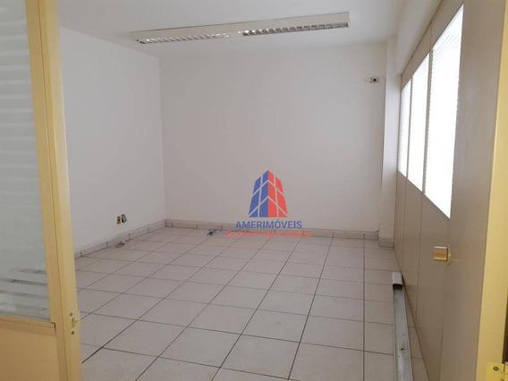 Sala Para Alugar, 114 M² Por R$ 1.100/mês - Edifício Rose Moutran - Jardim Girassol - Americana/sp - Sa0042